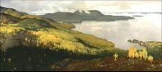 Kohtaamisia Kolilla | Eero Järnefelt - Maisemien ja tunteen maalari  Syysmaisema Pielisjärveltä, 1899