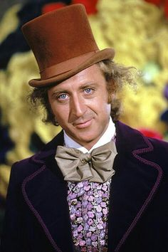 Gene Wilder, utterly perfect as Willy Wonka but also played in Silver Streak, Blazing Saddles, Stir Crazy, The Frisco Kid, The Producers, See No Evil-Hear No Evil. ....etc.....