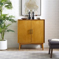 With its flared mid-century legs and smart bar storage, the Crosley Landon Bar Cabinet is sure to be your favorite piece. This cabinet boasts clean. Bar Furniture, Furniture Deals, Shabby Chic Furniture, Living Room Furniture, Modern Furniture, Furniture Design, Mid Century Legs, Dining Room Bar, Bars For Home