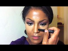 Highlight and Contour Tutorial on Darker Skin Tone - YouTube..The Best Video So Far!!!