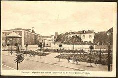 Jardim, Câmara Municipal e Coreto (Figueiró dos Vinhos, Portugal)
