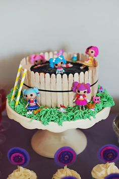 lalaloopsy pool birthday cake, photographed by Fiona Andersen