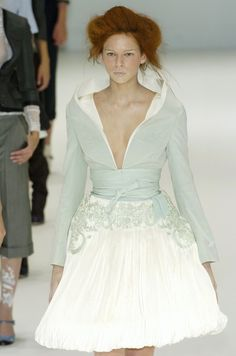 Alexander McQueen Spring 2005