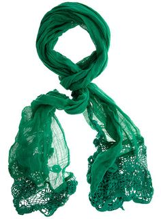 Loving this color right now. Different Shades Of Green, Green Nature, Color Of The Year, Green Fashion, Shawls And Wraps, Emerald Green, Womens Scarves, Green Colors, Favorite Color