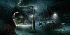Dead Space Concept Art Environnement #ea #gaming