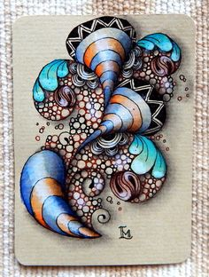 Lily's Tangles: Diva's Weekly Challenge #225 GUEST BLOGGER: Jen Crutchfield CZT