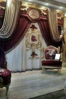 Classic Curtains, Unique Curtains, Luxury Curtains, Elegant Curtains, Home Curtains, Beautiful Curtains, Modern Curtains, Luxury Bedroom Sets, Rideaux Design