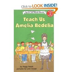 Teach Us, Amelia Bedelia (I Can Read Book 2): Peggy Parish, Lynn Sweat: 9780060511142: Amazon.com: Books