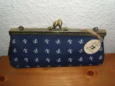 Joisys® Bügeltasche Schminkbox Maritim Anker von Joisys auf Etsy