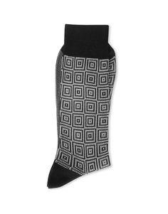 9784 Oblivium Calza uomo jacquard - men socks jacquard