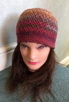 100% wool ladies hat  Multi coloured  Lovely for those cold winter days-nights.  Hand wash 30c Wash inside out. Dry flat Do not bleach Do not iron