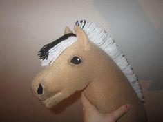 Harrastuksena keppihevoset: Ohje keppihevosen tekoon , 2. osa Easy Sewing Projects, Dinosaur Stuffed Animal, Toys, Animals, Activity Toys, Animales, Animaux, Clearance Toys, Animal