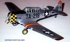 Monogram 1/48 T-6 Texan by Scott Van Aken