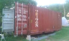 Steel shipping containers are an interesting, quick, and cost-effective way to install a robust, portable building in your yard, on your flatbed trail...