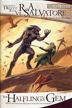 The Legend of Drizzt, book 6.