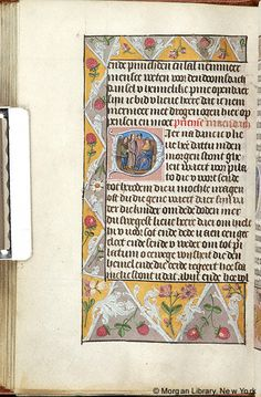 Book of Hours, MS M.156 fol. 104v - Images from Medieval and Renaissance Manuscripts - The Morgan Library & Museum