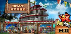 Boat House - Find Hidden Object Game [Download]:   <div><p>PlayHOG presents Boat House, a hidden objects game where we have carefully hidden 40 objects per level in a total of 10 levels to give you 400 objects to find.</p><p>FEATURES of Boat House:</p><p>• 10 Different levels</p><p>• 40 Objects Per Level</p><p>• 400 Objects to Find</p><p>• Pinch and zoom functionality to spot objects that are particularly difficult to find</p><p>• A handy hint feature that even the most experienced gam...