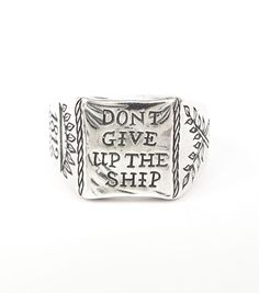 Catbird :: shop by category :: JEWELRY :: Rings :: Don't Give up the Ship Ring