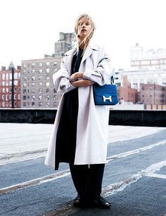 Stina Rapp Wastenson by Victor Demarchelier for Vogue Spain February 2014 | The Fashionography