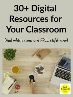 With schools closed because of the coronavirus, digital resources are so important. Here are more than 30 websites that will make digital learning easier. Teaching Tips, Teaching Reading, Teaching Math, Fun Learning Games, Math Groups, Reading Workshop, Guided Math, Science Lessons, Elementary Teacher