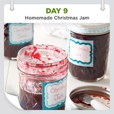 25 Days of Christmas Cheer :: Day 9 :: Homemade Christmas Jam Recipe from Taste of Home -- shared by Marilyn Reineman, Stockton, California
