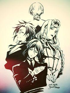 Imagen de black butler, kuroshitsuji, and anime