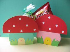 kids crafts treats toadstools