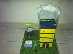 Rain water harvesting, 3D model