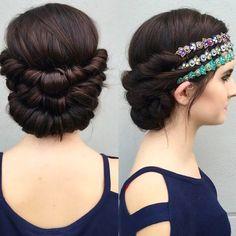 Amina from Harmony Hair Studio and Spa for $30.00