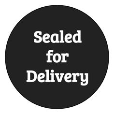 """Sealed For Delivery"" Take-Out Box Tamper-Proof Label - OnlineLabels.com"