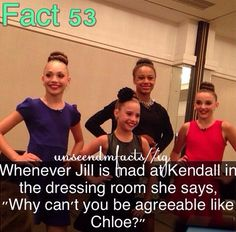 Hope you guys are ready!! Dance Moms facts spam! (These are not made by me)