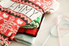 Children's Personalized Holiday Blankets - 4 Styles!  Snuggly, soft, perfect for the holidays personalized blanket.  61% OFF