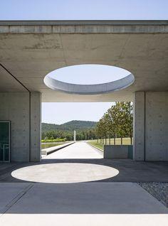 Chateau La Coste Art Centre 2011 by Tadao Ando. Photo by Frederik Vercruysse for WSJ Magazine | Yellowtrace