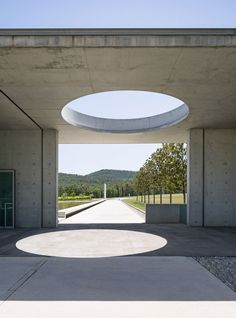 Chateau La Coste Art Centre 2011 by Tadao Ando. Photo by Frederik Vercruysse for WSJ Magazine | Yellowtrace