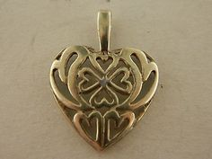 Sterling Silver 925 Clover