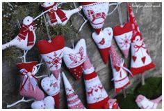 heartmade: Red and white winter / red-White Winter