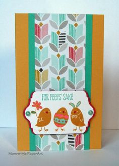 Peeps Surprise! Outside by Penny627 - Cards and Paper Crafts at Splitcoaststampers