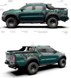 60 ideas pick up truck concept mercedes benz for 2019 Nissan Suvs, Nissan Trucks, Nissan Navara, Suv Trucks, Cool Trucks, Pickup Trucks, Mercedes Truck, Mercedes Benz, Custom Trucks