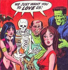 Even creepy ghoulies just want to be loved!