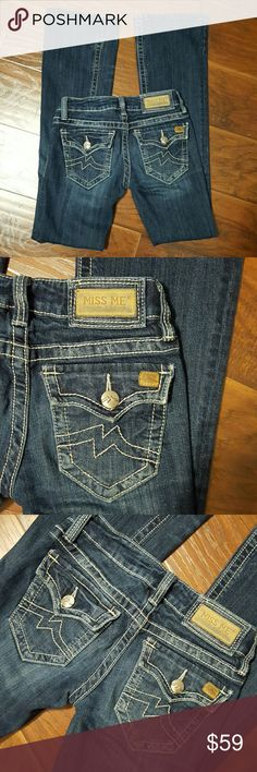 Miss Me Jeans size 26 Irene boot cut Miss Me Jeans size 26 Irene boot cut. Inseam is 32 inches.. Miss Me Jeans Boot Cut