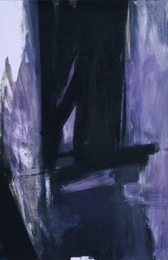 FRANZ KLINE, Torches Mauve, 1960. Oil on canvas. / Theresa Morelli