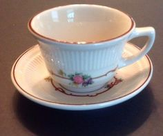 Bulk Tea Cup prices! Case of 48 Charmed Rose Inexpensive Teacups ...