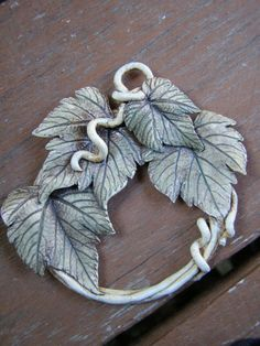 Subtle Shades of Sepia & Olive Swirl Upon the by Jaritascreations, $19.50