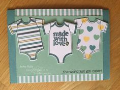Jackie Noble aka creativeJax Mediterranean Blog Hop Theme -Baby Love Something For Baby Made with Love ‪#‎gvachieversbloghop‬ ‪#‎stampinup‬ ‪#‎bloghop‬ #creativ…