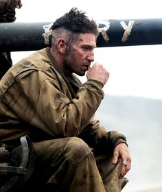 Jon Bernthal is Grady Travis in #FuryMovie. Purchase your tickets at thetheatres.com/.