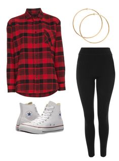 """""""Untitled #20"""" by alaninaissant on Polyvore featuring Adaptation, Topshop and Converse"""