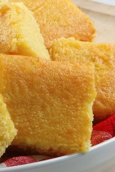 Grandma's Sweet Buttermilk Cornbread ~ Scrumptious and irresistibly moist sweet buttermilk cornbread