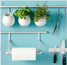 The Ikea Asker storage system. space saving and interesting!