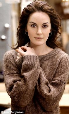 Michelle Dockery (Lady Mary on Downton). So incredibly gorgeous, I can't stop looking at this picture