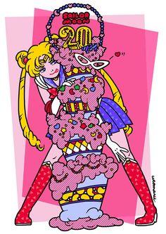 Manga et 80's par l'illustratrice Utomaru